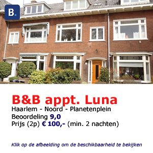 bed and breakfast haarlem luna